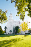 LDS Temple. Saint George Latter-day Saint Temple Stock Photo