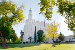 Saint George Temple. Saint George Latter-day Saint Temple Royalty Free Stock Photo