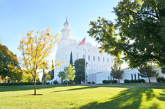 Saint George Temple. Saint George LDS Temple Royalty Free Stock Images