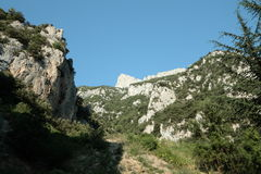 Saint-Georges canyon Royalty Free Stock Photo