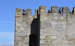 Saint Georges castle, Lisbon Stock Photography