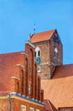 Saint Georges church in Parchim Stock Photography