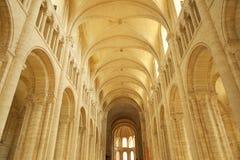 Saint-Georges de Boscherville Abbey Stock Photo