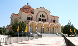 Saint Gerasimos Basilica, Kefalonia, Greece. Royalty Free Stock Photo
