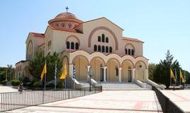 Saint Gerasimos Basilica, Kefalonia, Greece. Royalty Free Stock Photo