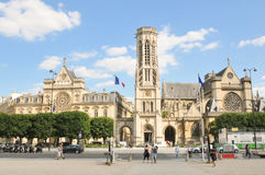 Saint Germain Auxerrois Church  in Paris Stock Images