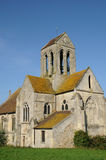 The Saint Germain church of Cléry en Vexin Royalty Free Stock Photos
