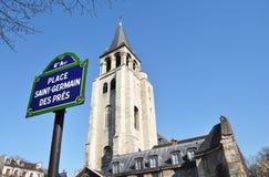 Saint-Germain des Prés Royalty Free Stock Photos