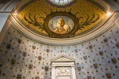 Abbey of Saint Germain en Laye, France. SAINT GERMAIN EN LAYE, FRANCE, APRIL 08,  2017 : interiors of the abbey, april 08, 2017, in Saint germain en Laye, France Stock Image