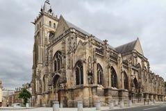 Saint-Germain-l'Ecossais Church of Amiens. The Saint-Germain-l'Ecossais Church of Amiens, France Stock Image