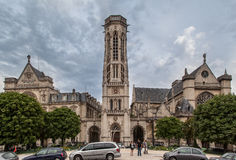 Saint Germain L´auxerrois Church Paris France Stock Image