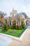 Saint-Germain l'Auxerrois Church Royalty Free Stock Photo