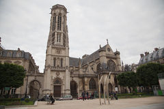 Saint Germain L´auxerrois Church Tower Paris Stock Images