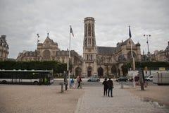 Saint Germain L´auxerrois Church Tower Paris Royalty Free Stock Photo