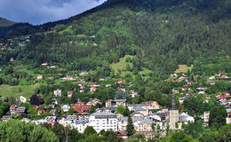 Saint Gervais town, France Stock Photo