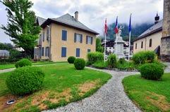 Saint Gervais town, France Stock Images
