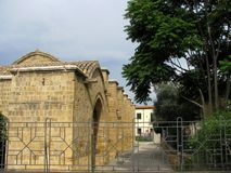 Saint Giannis Yiannis church. In Nicosia Cyprus stock photography