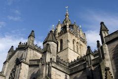 Saint Giles Cathedral. Edinburgh. Royalty Free Stock Photos