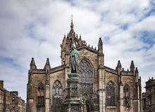 Saint Giles cathedral Edinburgh. Image of saint Giles cathedral in Edinburgh, Scotland Stock Image