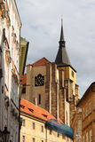 Saint Giles church in Prague Royalty Free Stock Photos