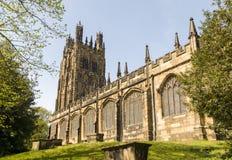 Saint Giles Church Wrexham fotos de stock
