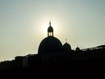 Saint Giorgio Maggiore da opinião de Veneza Fotografia de Stock Royalty Free