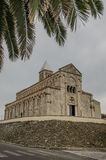 Saint Giusta cathedral, Sardinia Stock Photos