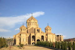 Saint Gregory the Illuminator Cathedral.  Stock Images