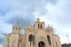 Saint Gregory the Illuminator Cathedral, Yerevan, Armenia stock photos