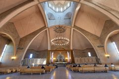 Saint Gregory The Illuminator Cathedral in Yerevan, Armenia, taken in April 2019rn` taken in hdr royalty free stock photo