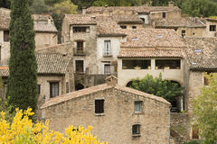 Saint Guilhem le desert Royalty Free Stock Photos