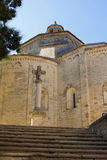 Saint Guilhem Le Desert Church royalty free stock photography