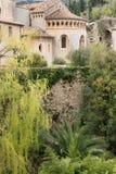 Saint Guilhem le Desert village. Famous Saint Guilhem le Desert village protected by UNESCO, France royalty free stock images