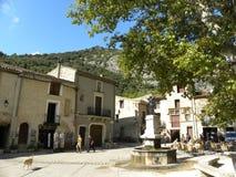 Saint-guilhem-le-desert, a village in herault, languedoc, france. Saint-guilhem-le-desert, a village in herault, a department of the region Languedoc, france royalty free stock photography