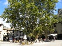 Saint-guilhem-le-desert, a village in herault, languedoc, france. Saint-guilhem-le-desert, a village in herault, a department of the region Languedoc, france stock images