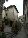 Saint-guilhem-le-desert, a village in herault, languedoc, france royalty free stock photography
