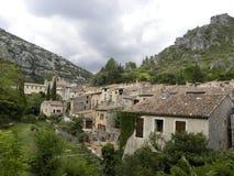 Saint-guilhem-le-desert, a village in herault, languedoc, france. Saint-guilhem-le-desert, a village in herault, a department of the region Languedoc, france stock photo