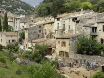 Saint-guilhem-le-desert, a village in herault, languedoc, france. Saint-guilhem-le-desert, a village in herault, a department of the region Languedoc, france royalty free stock photos