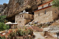 Saint Haritones monastery yard. Stock Photography