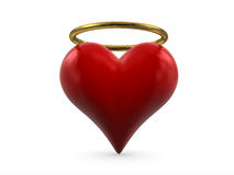 Saint heart Stock Photo