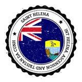 Saint Helena flag badge. Stock Photos