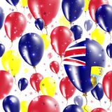 Saint Helena Independence Day Seamless Pattern. Royalty Free Stock Photography