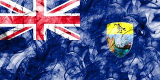 Saint Helena smoke flag, British Overseas Territories, Britain d. Ependent territory flag Stock Images