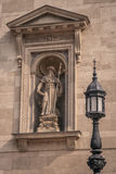 Saint Hieronymus sculpture stock photo