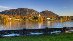 SAINT-HILAIRE mountain fall stock images