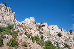 Saint Hilarion Castle Royalty Free Stock Photo