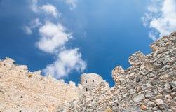 Saint Hilarion Castle Stock Image