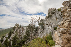 Saint Hilarion Castle, Kyrenia, Cyprus Stock Photography