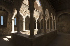 Saint Honorat fortified monastery, France Royalty Free Stock Photography