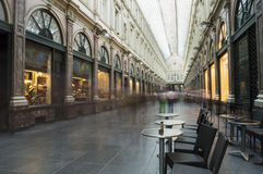 Saint Hubert Royal Galleries in Brussels Stock Photography